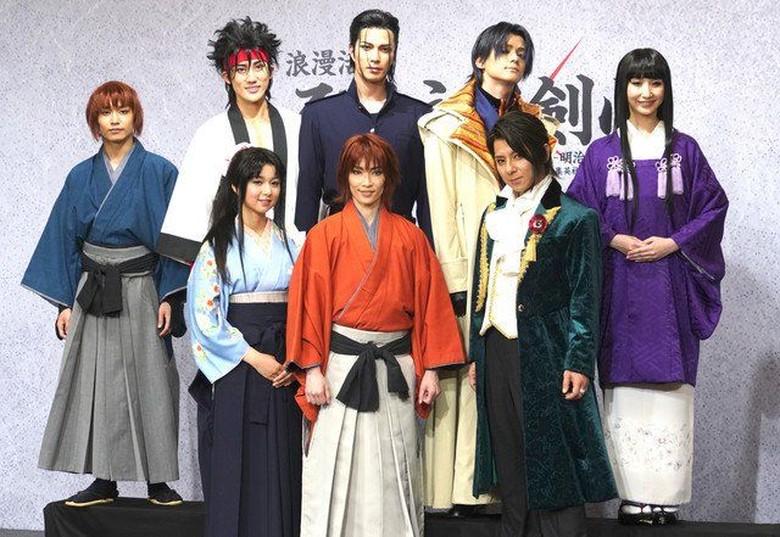 Panggung Musikal Rurouni Kenshin di Jepang Bakal Ada Banyak Visual