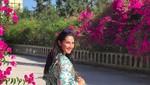 Maudy Koesnaedi Cantik Berbaju Tenun Pink