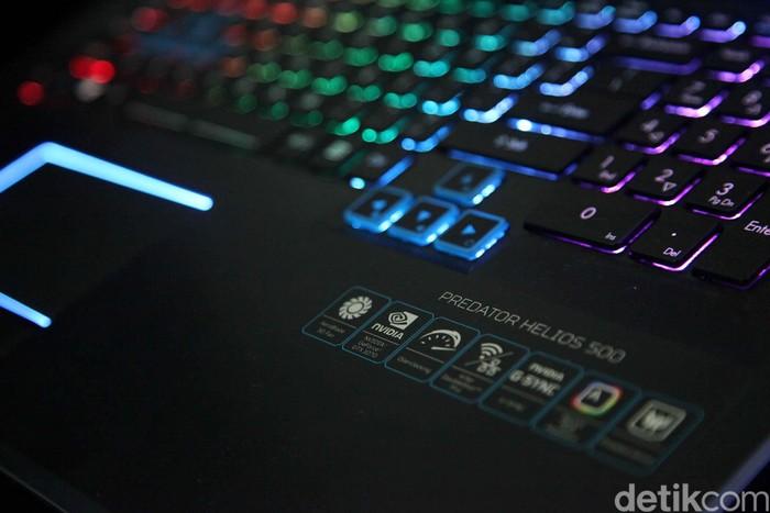 Laptop gaming Acer. Foto: Pradita Utama/detikINET