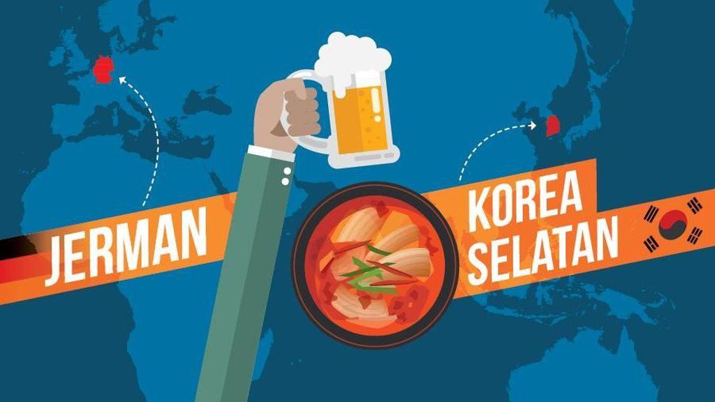 Jerman Punya Bir, Korea Punya Kimchi: Siapa Lebih Sehat?