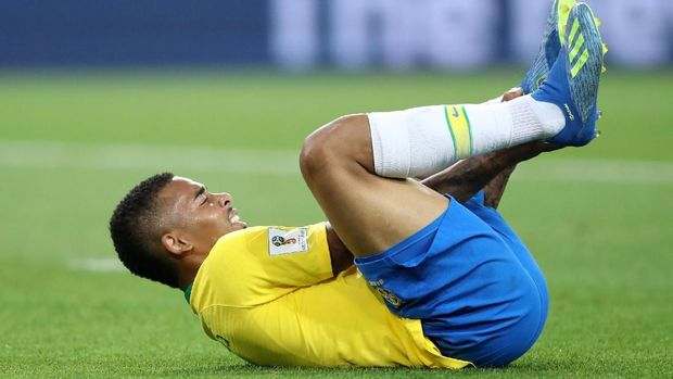 Gabriel Jesus tidak bisa mencetak gol di babak penyisihan.