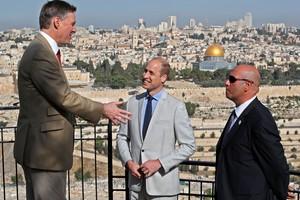 Intip Perjalanan Bersejarah Pangeran William di Israel-Palestina