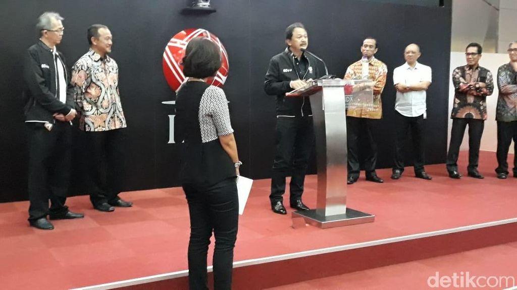 Hari Terakhir Tito Sulistio Jadi Bos BEI