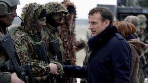 Prancis Berlakukan Lagi Wajib Militer Untuk Usia 16 Tahun
