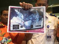 Basarnas tunjukkan foto objek KM Sinar Bangun yang ditemukan di Danau Toba.