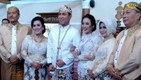 Pernikahan Rizal dan Monica diadakan di Masjid Ageng Karaton Surakarta Hadiningrat, Solo, Jawa Tengah. Foto: Dok.Instagram