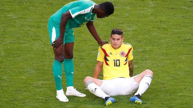 James Rodriguez lebih sering cedera di 2018.