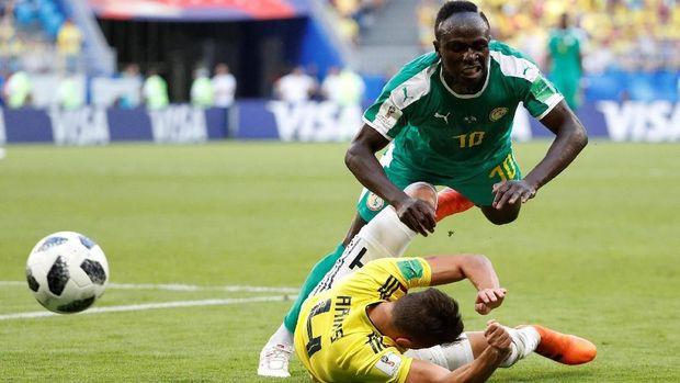 Sadio Mane kini menjadi ruh permainan timnas Senegal.