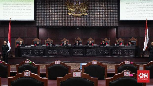 MK Tolak Gugatan PSI soal Aturan Iklan Kampanye