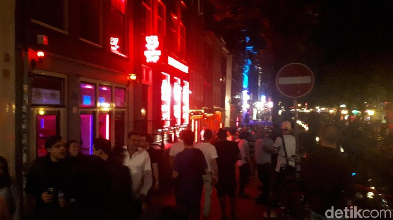 Red Light District Amsterdam (Afif Farhan/detikTravel)