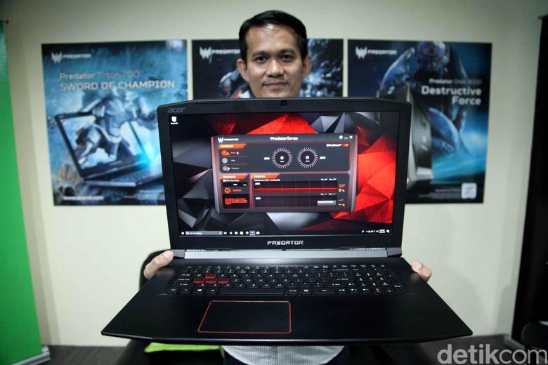 Laptop gaming Acer yaitu Predator Helios 500 dan Predator Helios 300.