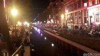 Suasana di Red Light District Amsterdam (Afif Farhan/detikTravel)