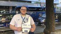 Send us Victorious dan Sosok di Balik Slogan Inggris di Piala Dunia 2018