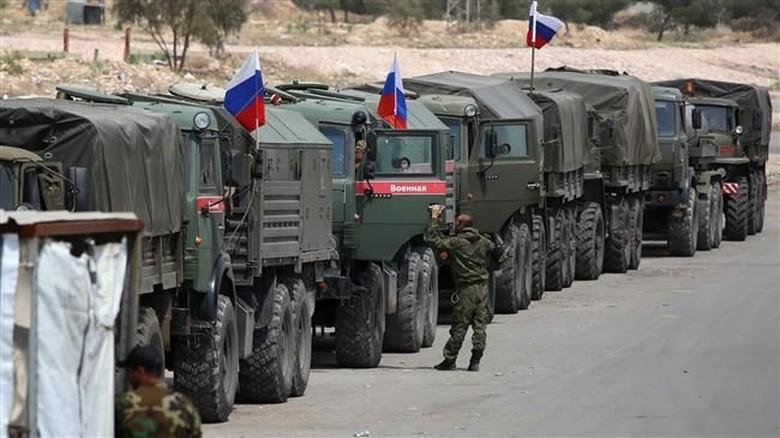 Rusia Tarik 1.140 Tentara dan 13 Pesawat Tempur dari Suriah