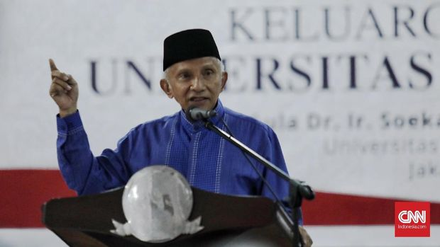 Din Syamsudin Yakin Muhammadiyah Tak Dukung Amien Rais Capres