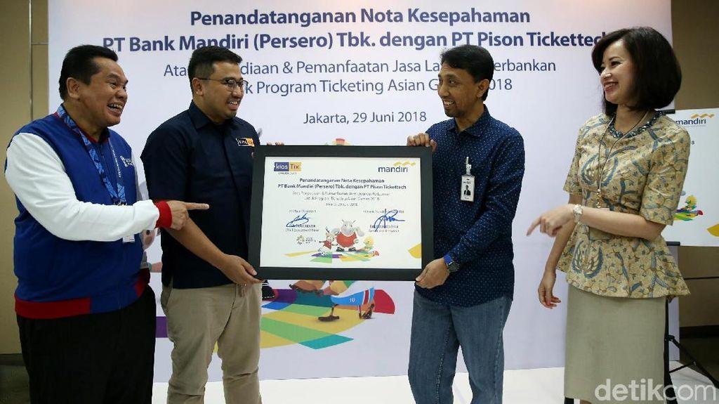 Amburadul Layanan Penjualan Tiket Asian Games, Ini Kata CEO KiosTix