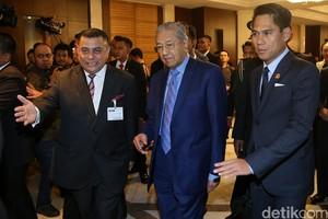 Mahathir Mohamad Temui Sejumlah Tokoh Indonesia