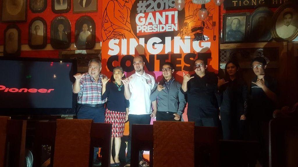 Lomba Cover Lagu #2019GantiPresiden Berhadiah Duit hingga Umrah
