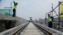 LRT Kelapa Gading-Velodrome Dipastikan Uji Operasi Saat Asian Games