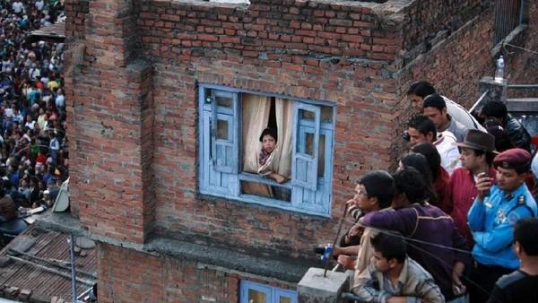 Foto: Sudah jadi acara tahunan, traveler yang mau menyaksikan festival ini bisa datang pada bulan April. (Navesh Chitrakar/Reuters)