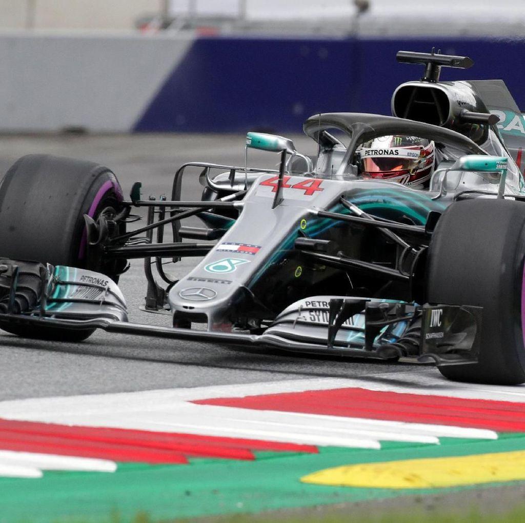 Hamilton Tercepat, Mercedes Dominasi Latihan Pertama GP Austria