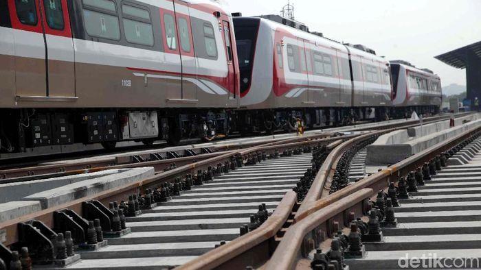 LRT Jakarta/Foto: Pradita Utama