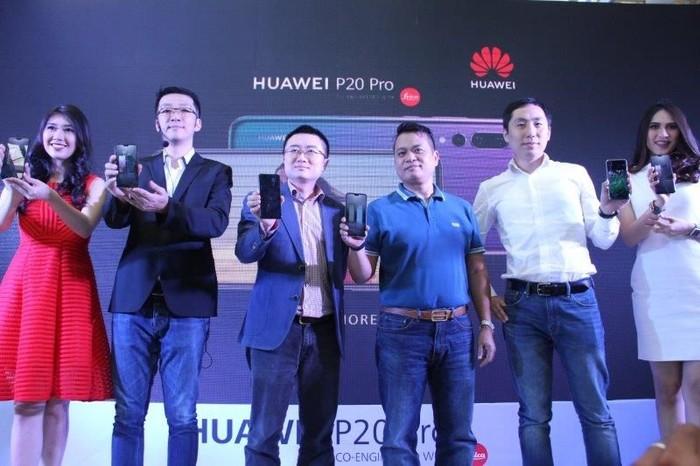 Peluncuran Huawei P20 Pro. Foto: Huawei