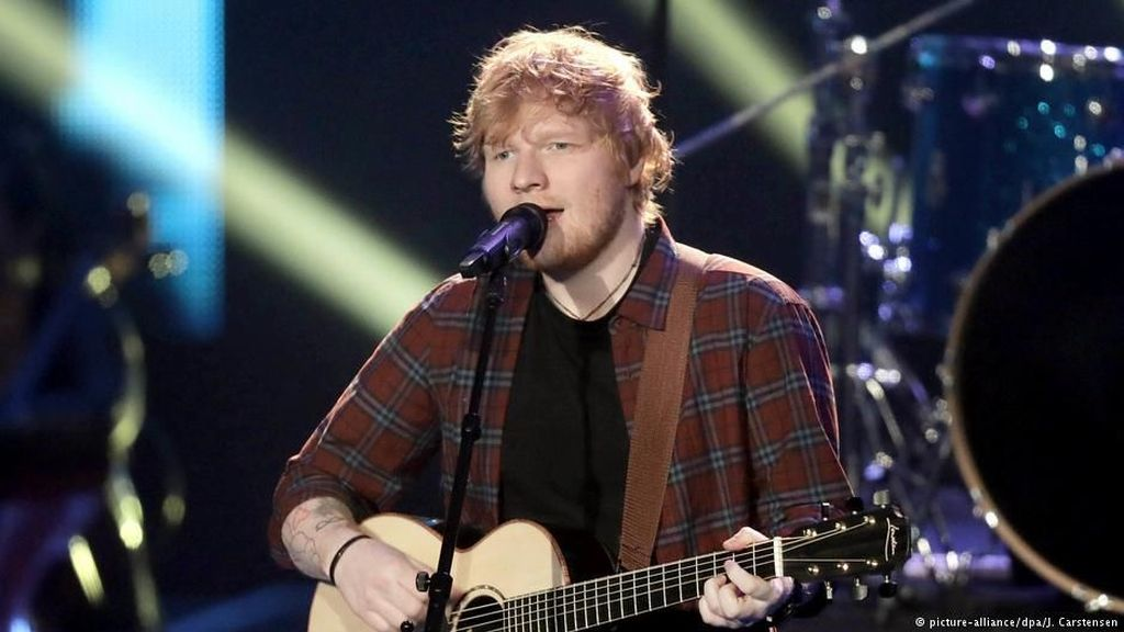 Dekat Eminem dan 50 Cent, Mungkinkah Ed Sheeran Banting Setir ke Hip Hop?
