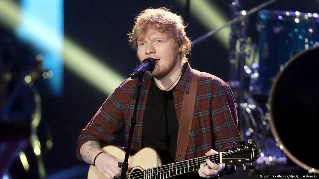 Ini Jadwal Lengkap Sementara Tur Ed Sheeran di Asia