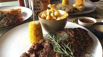 The Cut Grill House: Ada Sirloin HULK Jumbo dan Chicken Breast Mozzarella Enak