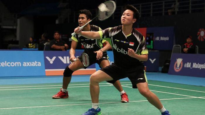 Tontowi Ahmad/Liliyana Natsir tersingkir di perempatfinal Malaysia Terbuka (Foto: Tim Humas Dan Media PP PBSI)