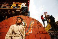 Semua warga Nepal turun ke jalan (Navesh Chitrakar/Reuters)