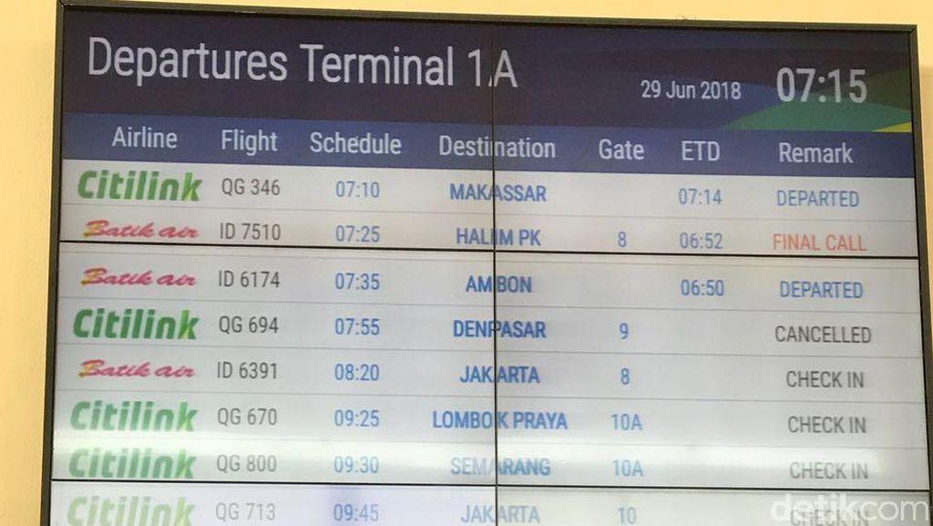 Penerbangan ke Bali Dibatalkan, Ini Keluh Kesah Calon Penumpang di Juanda