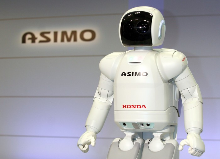 Honda Asimo. Foto: Getty Images