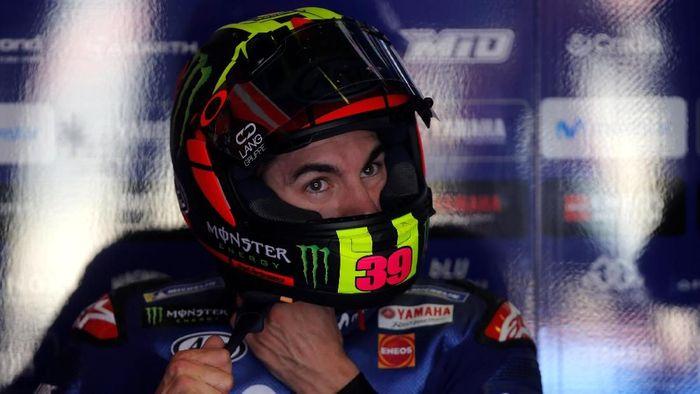 Maverick Vinales membukukan waktu tercepat di latihan bebas kedua MotoGP Belanda (Foto: Jon Nazca/Reuters)