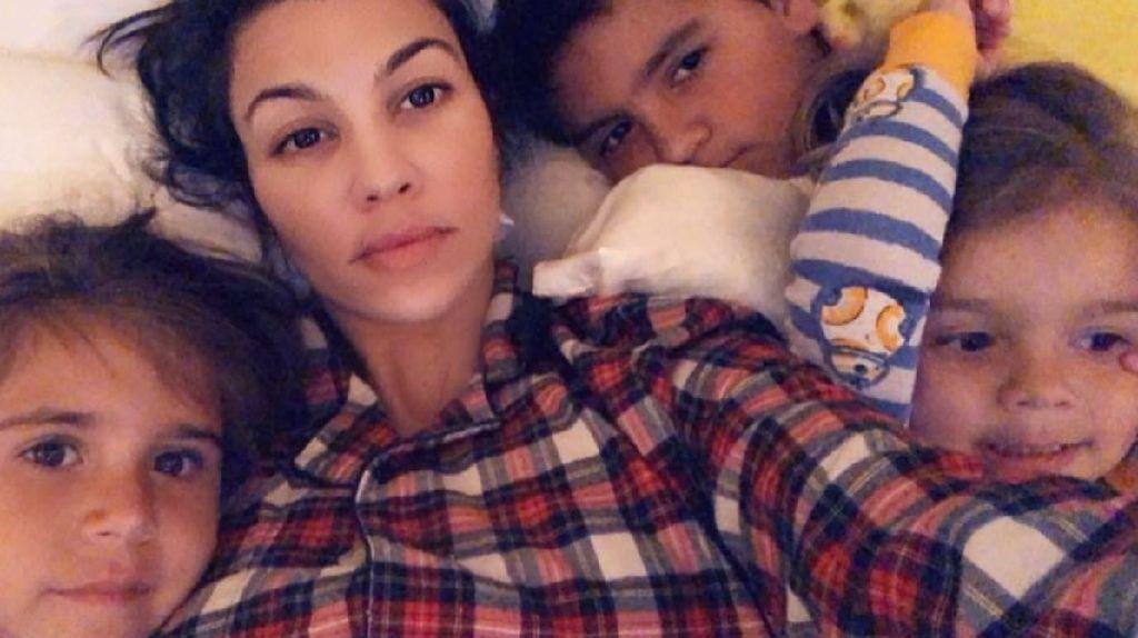 Ucapan Manis Kourtney Kardashian untuk si Kecil yang Ulang Tahun
