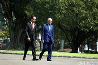 Mahathir dan Jokowi di Istana Bogor