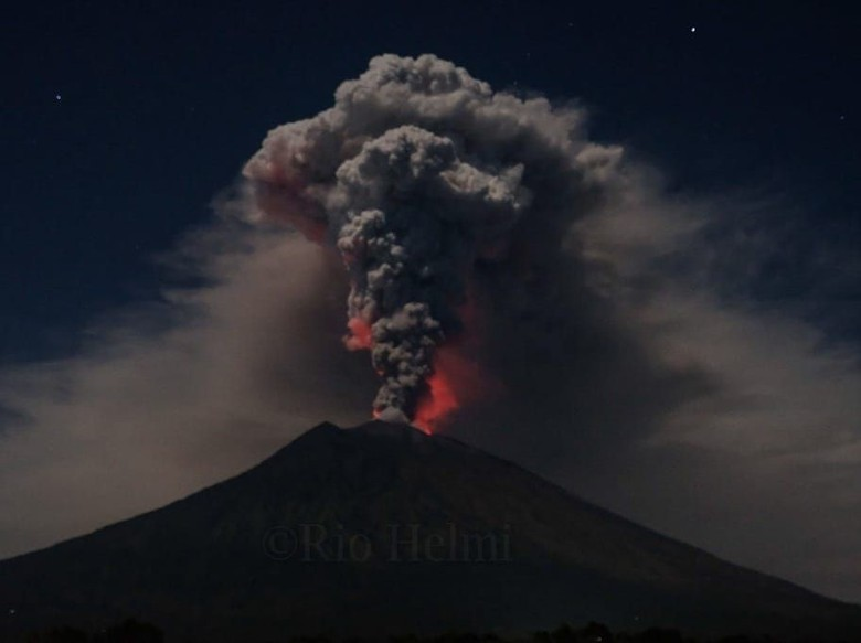 Gunung Agung. Foto: dok. BNPB