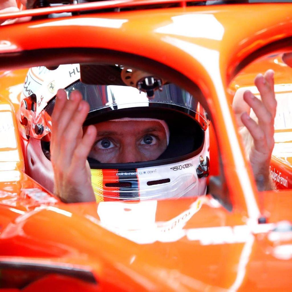 Vettel Kuasai Latihan Bebas Ketiga GP Austria