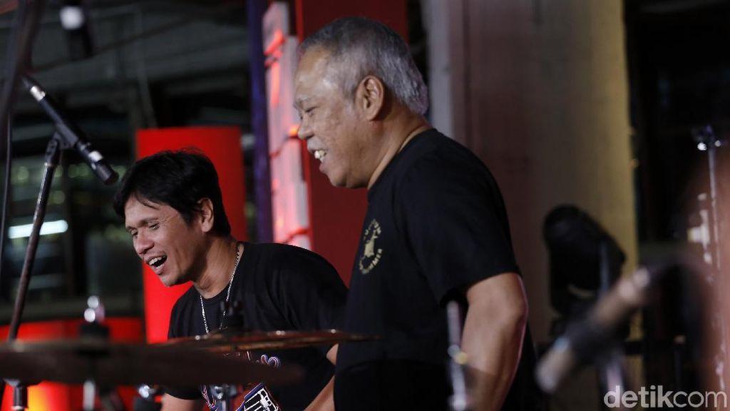 Menteri Basuki Muncul di Tengah Penampilan Gilang Ramadhan