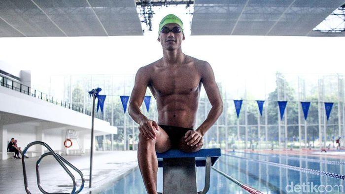 Jendi Pangabean, atlet paraswimming