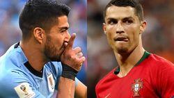 Suarez-Ronaldo di Uruguay Vs Portugal, Aroma El Clasico Menyengat