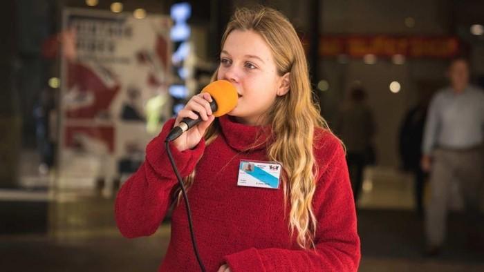 Bernyanyi menjadi cara Jazmin Allen untuk menumbuhkan rasa percaya diri. Foto: ABC Australia