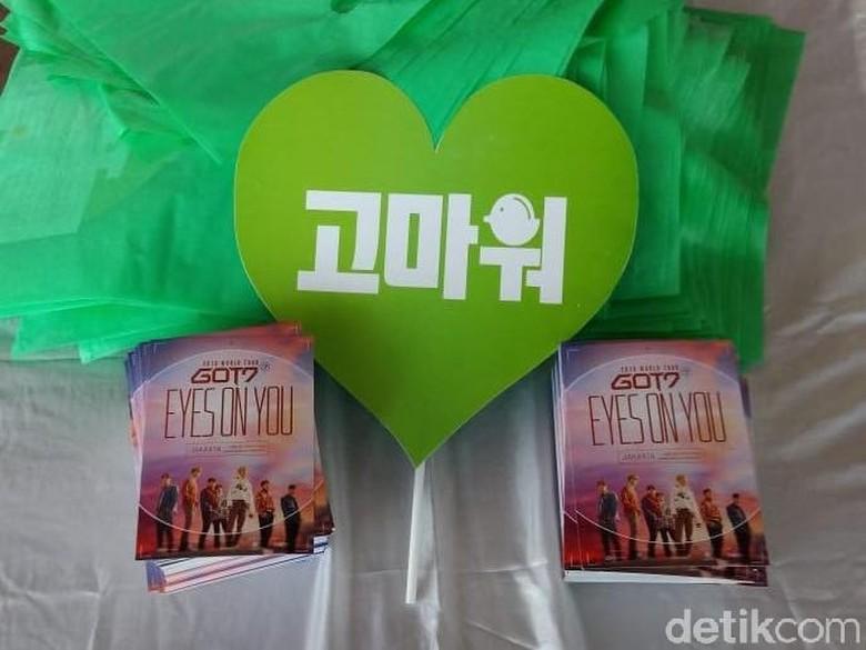 GOT7 Konser Malam Ini, Berikut Rangkaian Proyek Unik Fans Indonesia
