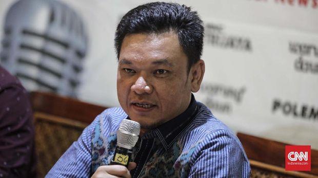 POlitikus Partai Golkar TB Ace Hasan Syadzily, di Jakarta, Sabtu, 30 Juni.