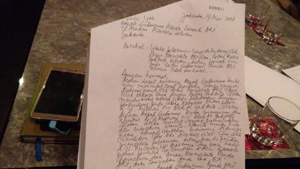 Begini Isi Surat ke Anies soal Club Chameleon