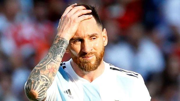 Rekor gol Lionel Messi di timnas Argentina dikalahkan penyerang timnas India, Sunil Chhetri. (