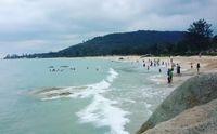 Pantai Tanjung Pesona di Bangka