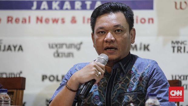 Jubir Timses Jokowi-Ma'ruf Amin, TB Ace Hasan Sadzily, Jakarta, 30 Juni.