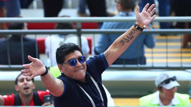 Diego Maradona kerap bermasalah dengan kesehatan.